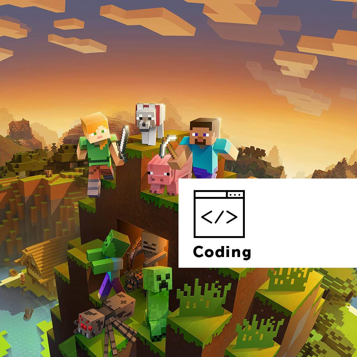 La creatività di Minecraft in classe