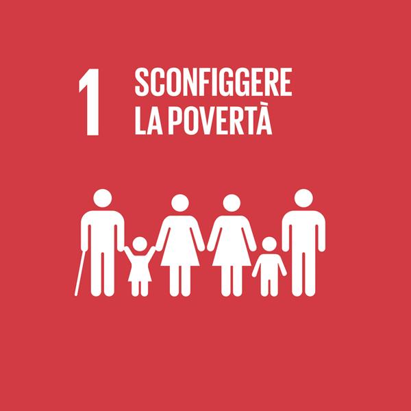 Obiettivo 1: sconfiggere la povertà