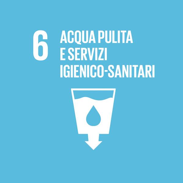 Obiettivo 6: acqua pulita e servizi igienico-sanitari
