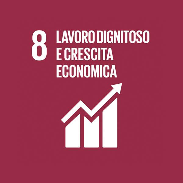 Obiettivo 8: buona occupazione e crescita economica