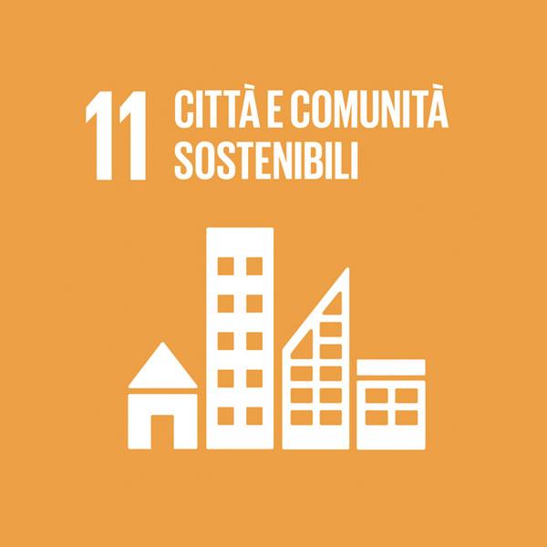 Obiettivo 11: città e comunità sostenibili
