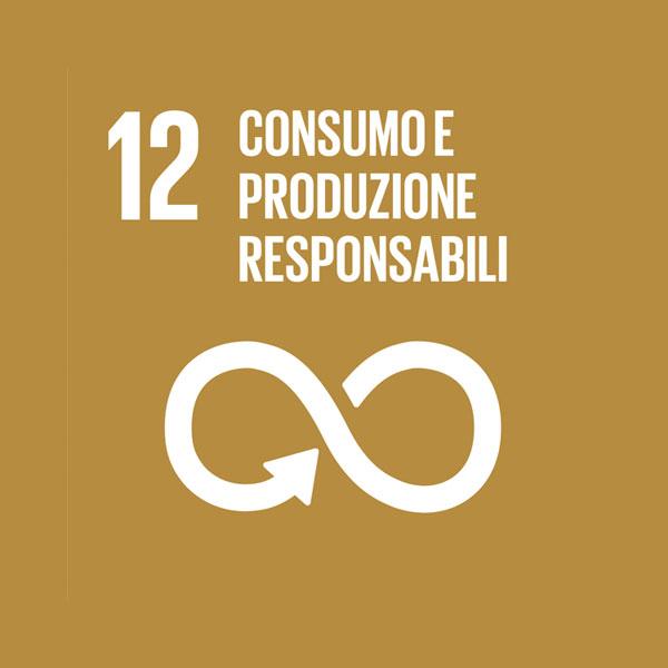 Obiettivo 12: consumo e produzione responsabili