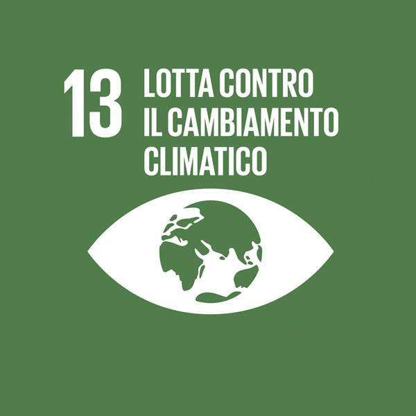 Obiettivo 13: lotta contro il cambiamento climatico