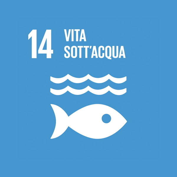Obiettivo 14: flora e fauna acquatica