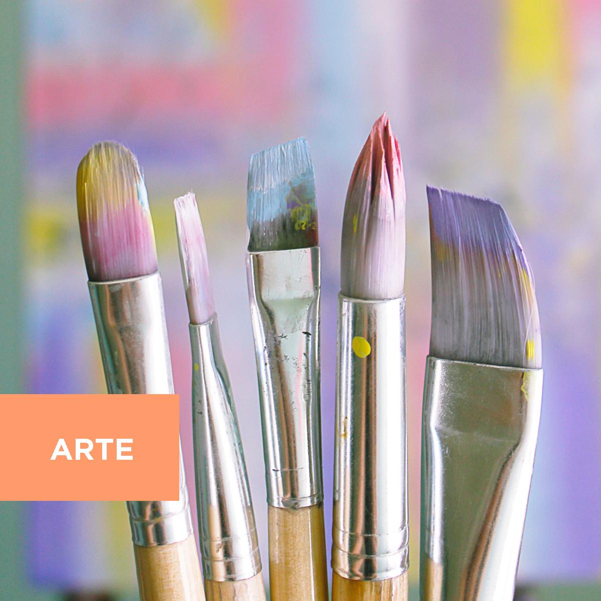 L'arte a portata di click: tecniche pittoriche a