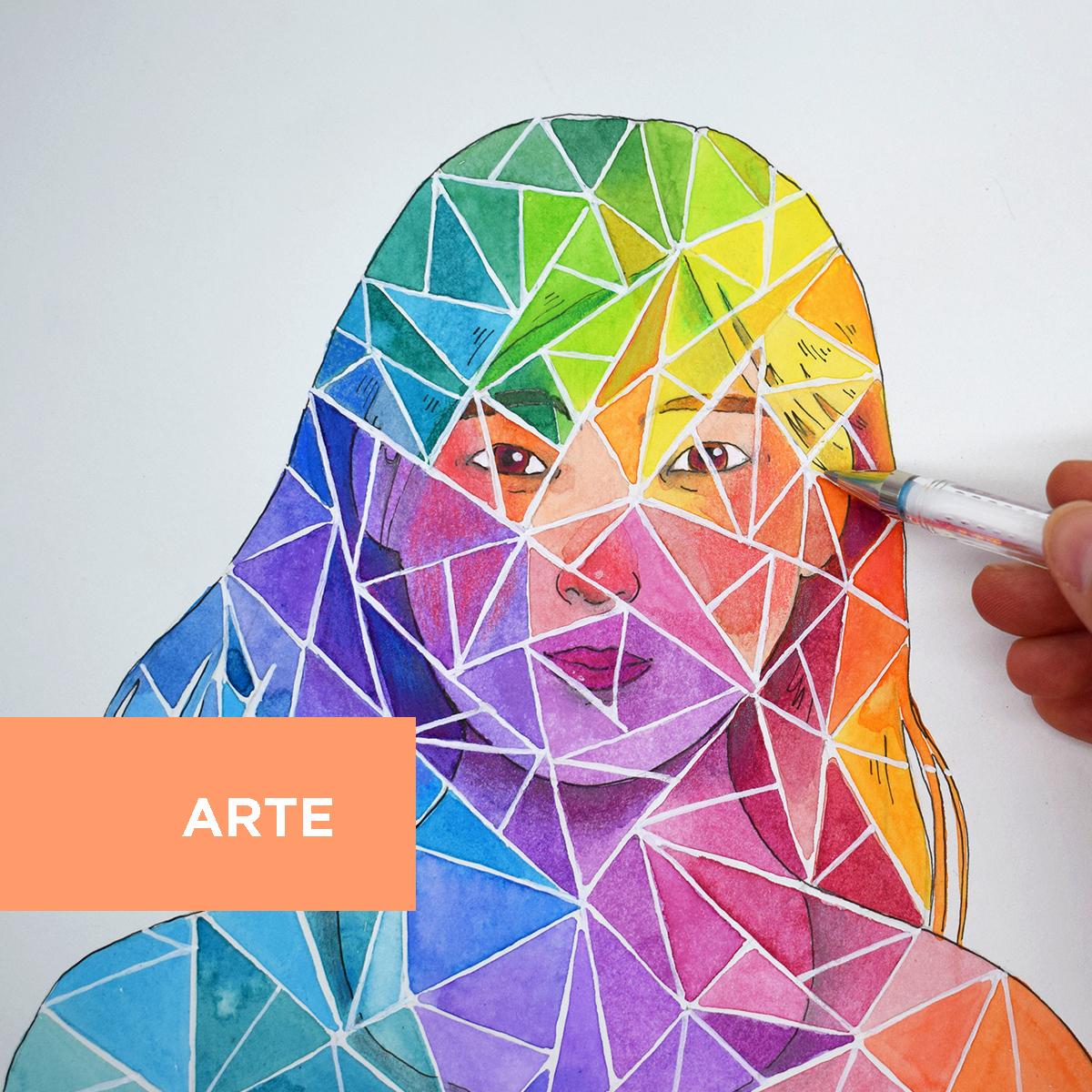 Divertirsi con l'arte: effetti speciali e trucchi del mestiere con la tecnica mista