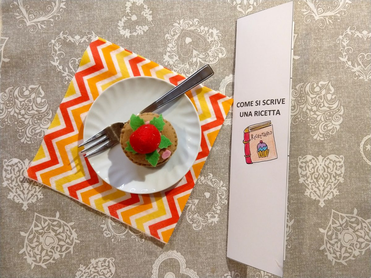 La cucina degli scarabocchi: arte e creatività. Scrivere ricette seguendo le regole del testo regolativo.