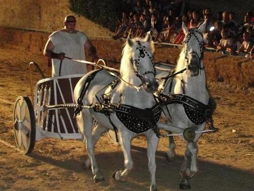 Scartamento ferroviario… e cavalli romani!